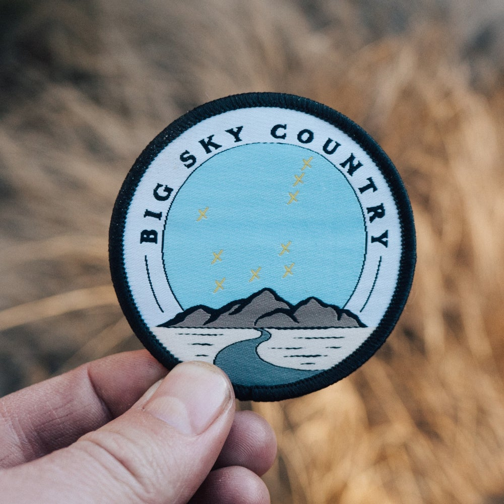 Image of Big Sky Country - Embroidered Patch