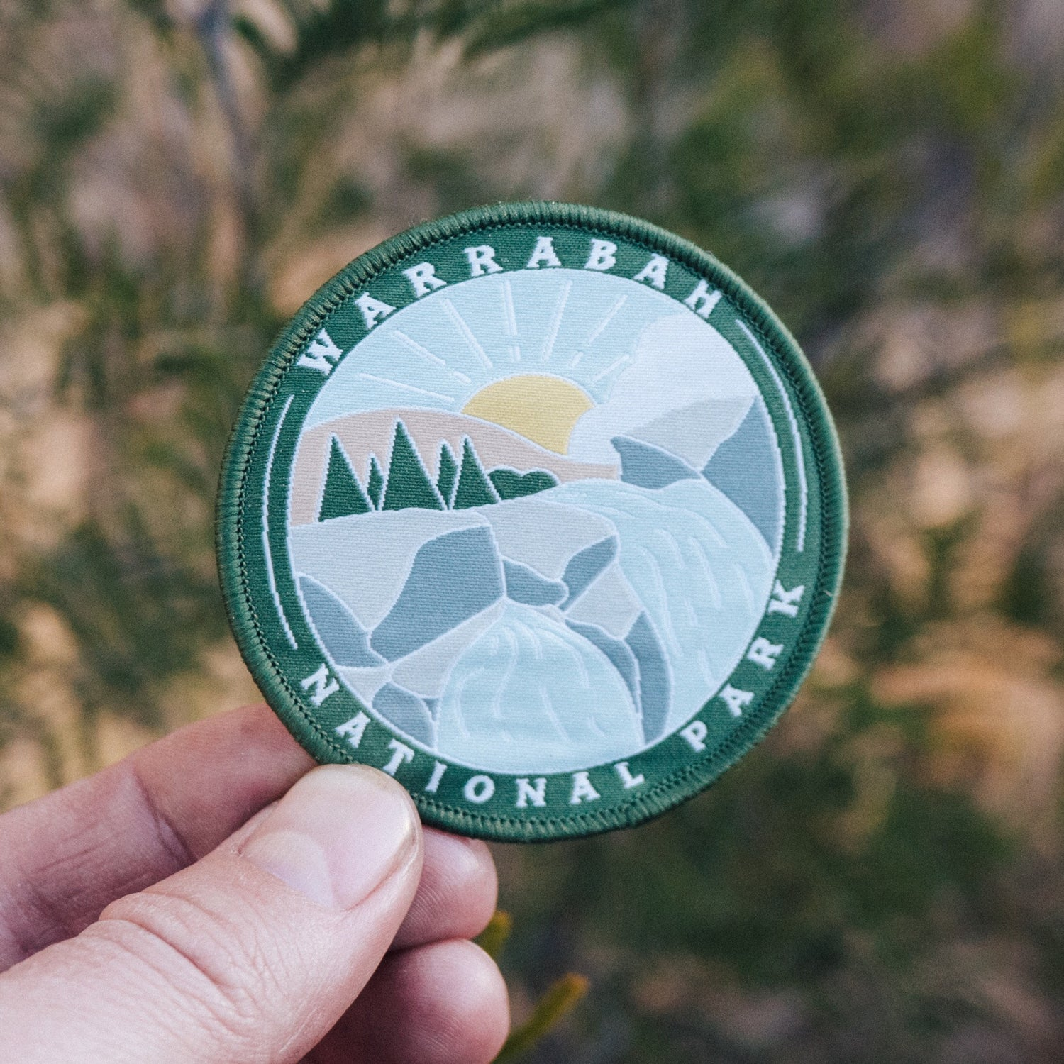 Image of Warrabah National Park - Embroidered Patch