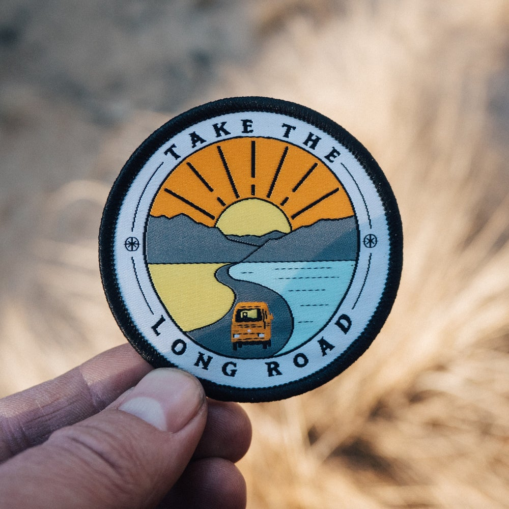 Image of Take The Long Road - Embroidered Patch