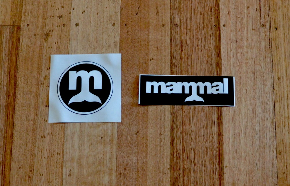 Image of Mammal Stickers x 2