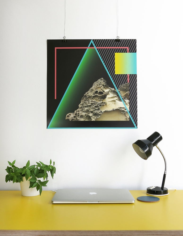 Image of EARTH GICLEE PRINT