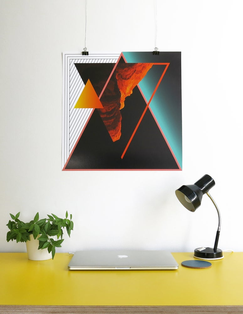 Image of FIRE GICLEE PRINT