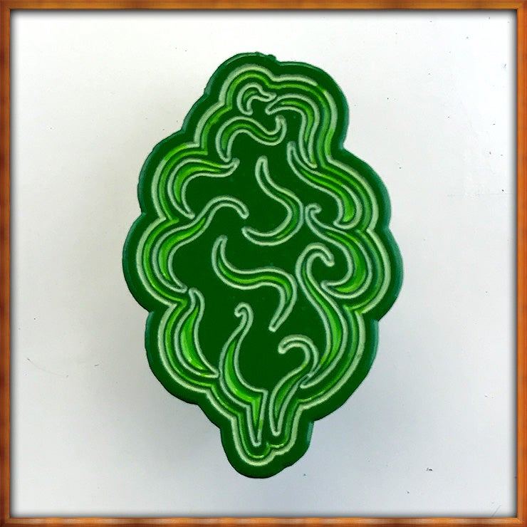 "Image of ""Greens"" Tree Pin"