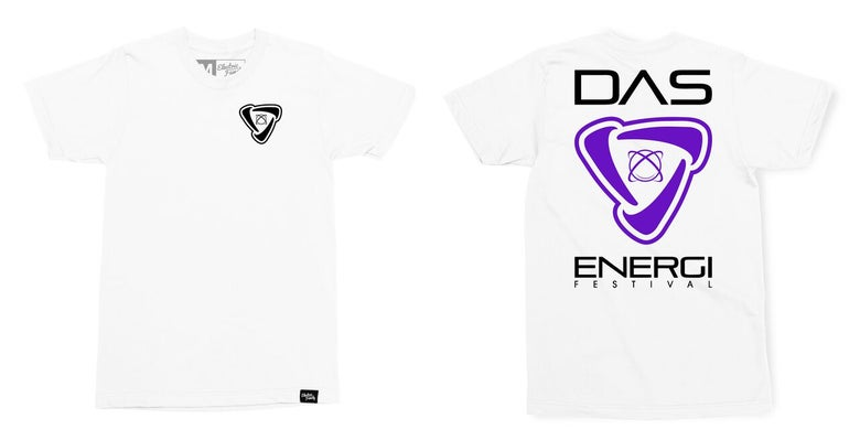 Image of Limited Edition Electric Family Collab Energi Icon: White Tee