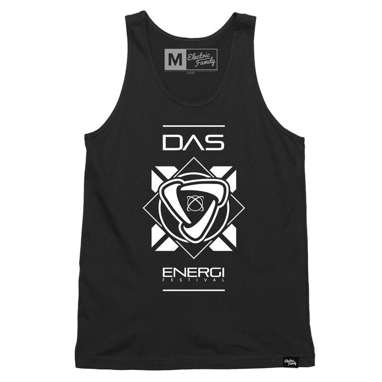 Image of Limited Edition Electric Family Collab Energi Form: Black Tank