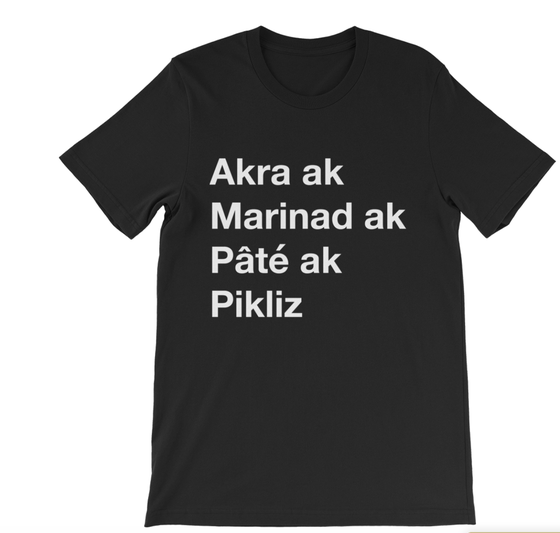 Image of Haitian Foods Shirt