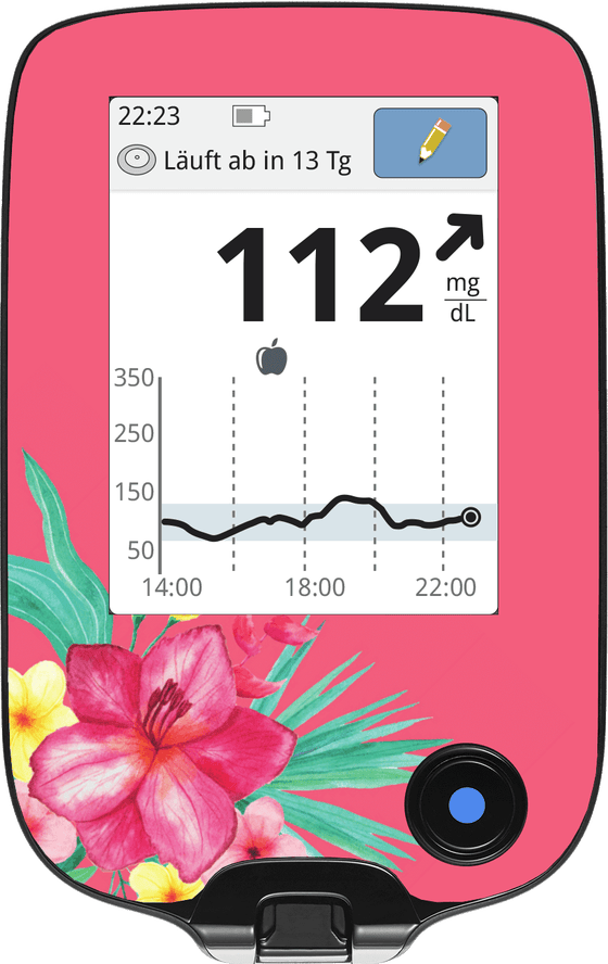 Image of Pink Flowers Screen Protector
