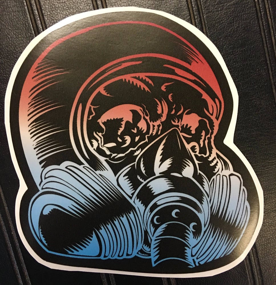 Image of SHOP STICKER - HEAD LOGO 5""