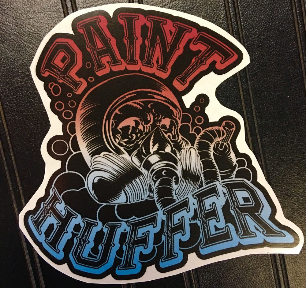 Image of PAINTHUFFER-SHOP STICKER-5""