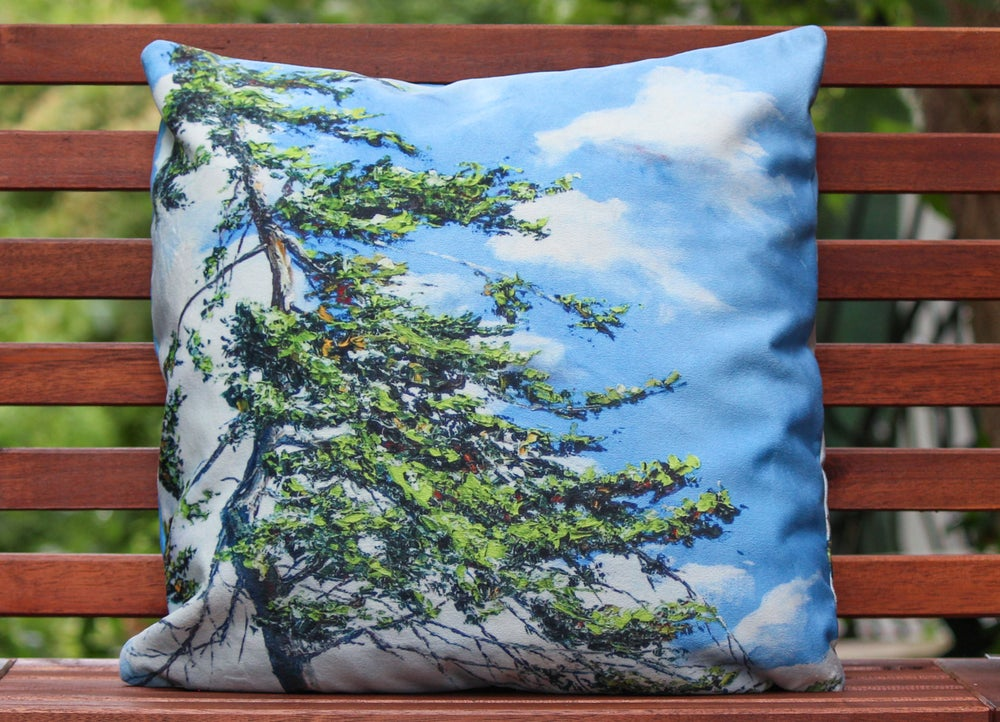 Image of - Treetop Pillow -