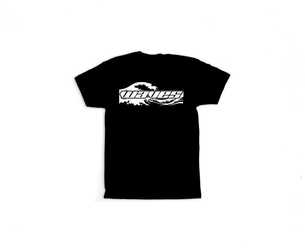 Image of Tiki Rogue Waves Tee(Black)