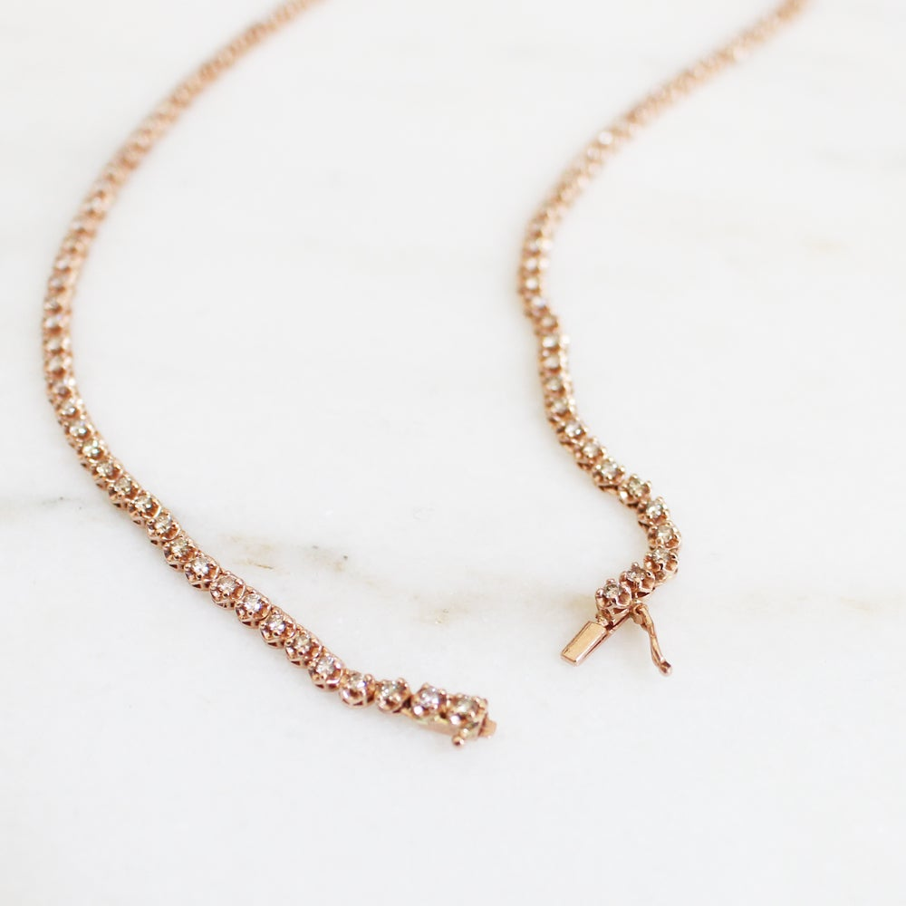Image of Stardust Diamond Chocker Necklace