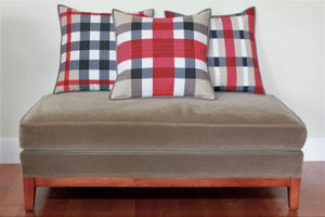 Image of Hipster Throw Pillow Cover Pattern Trio