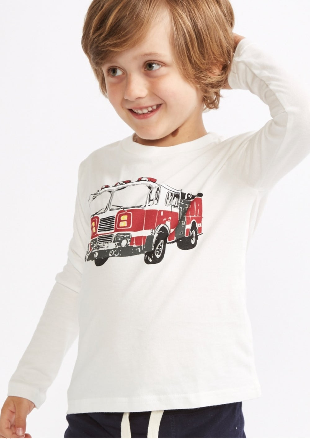 Image of Boys Fire engine top