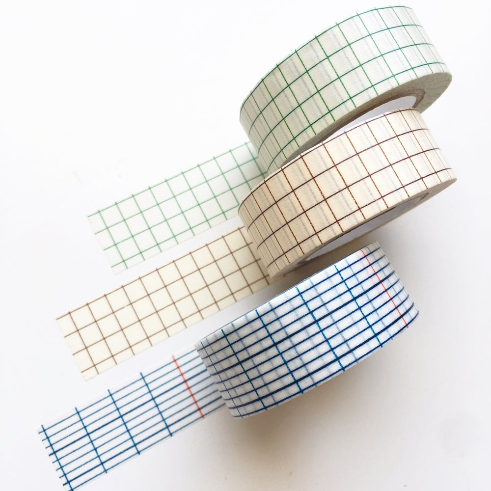 Image of Classiky Grid Washi Tape 18mm