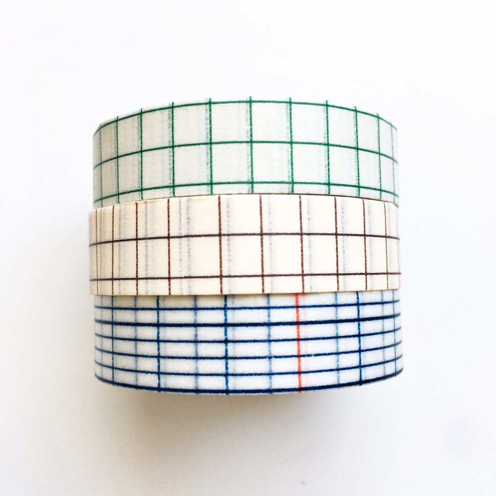 Image of Classiky Grid Washi Tape 12mm