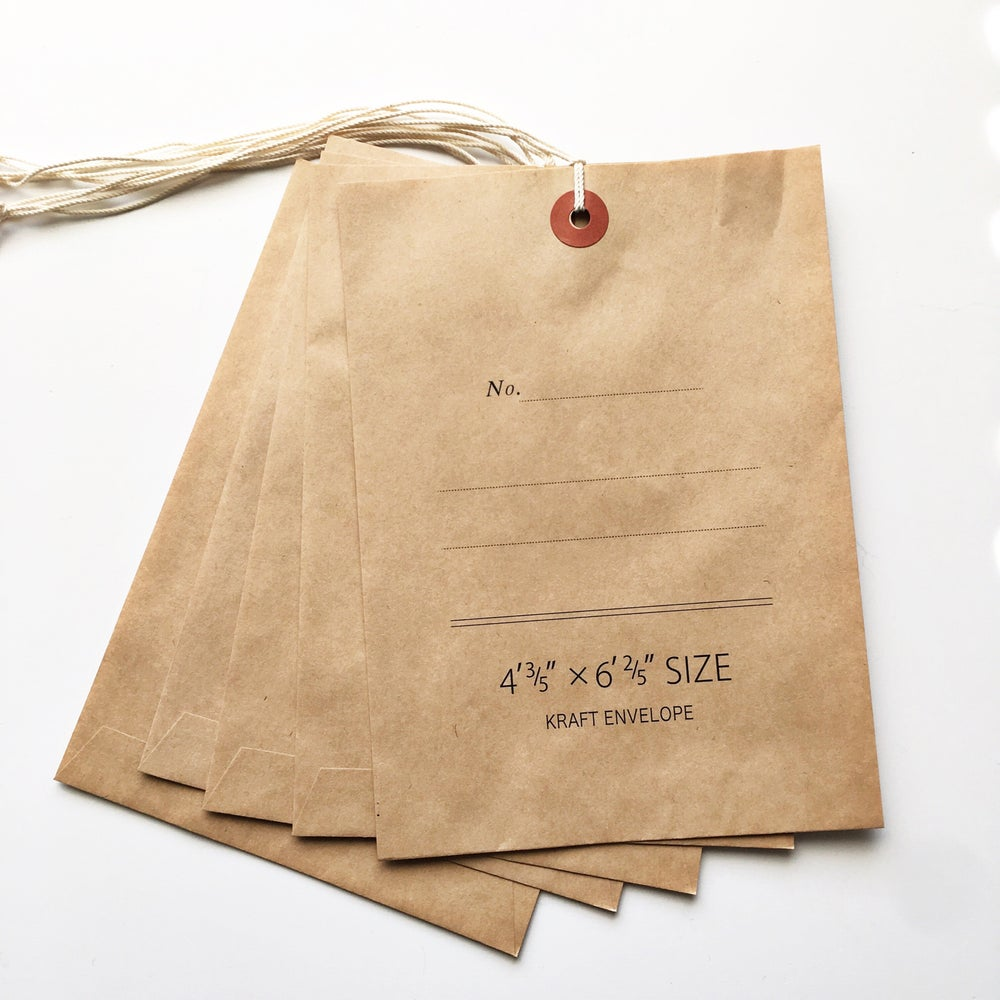 Image of Classiky Kraft Envelope with String