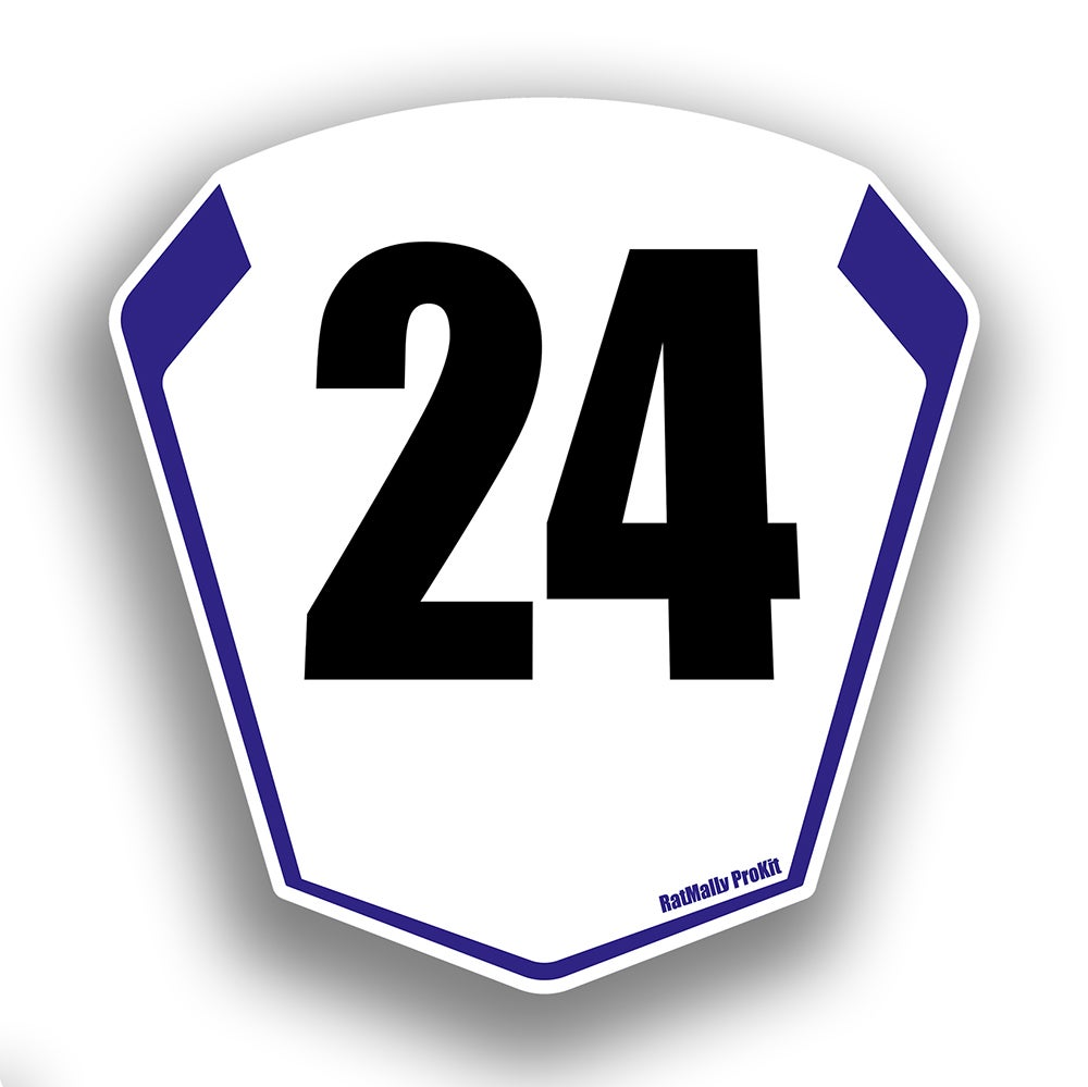 Image of Race Number Boards. To Fit Yamaha YZF R1 2015>