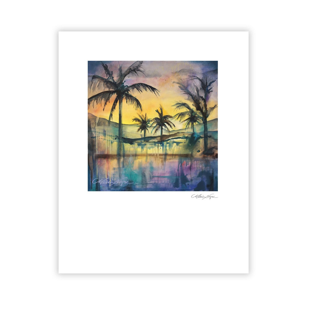 Image of Liquid Sunset, Archival Paper Print