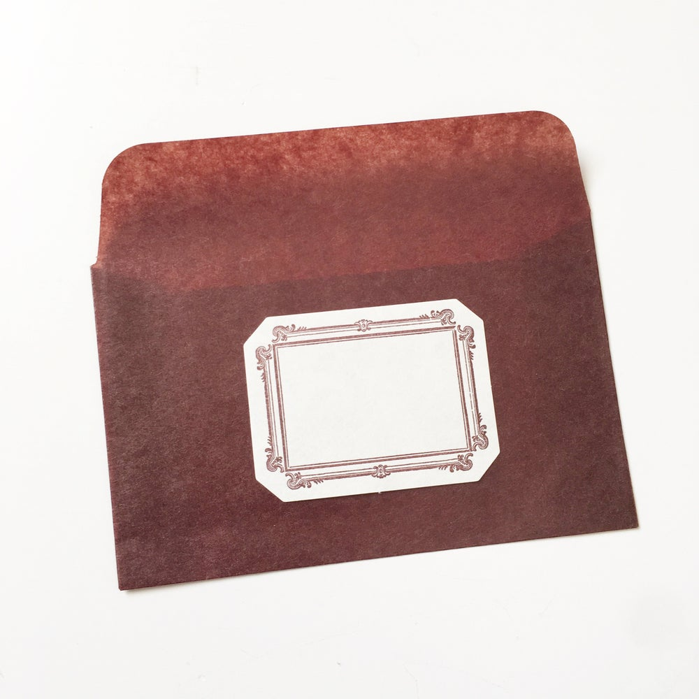 Image of Classiky Mini Glassine Envelope with Label