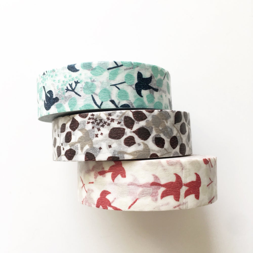 Image of Classiky Message Bird Washi Tape