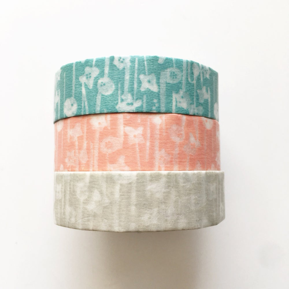 Image of Classiky Small Flower Washi Tape