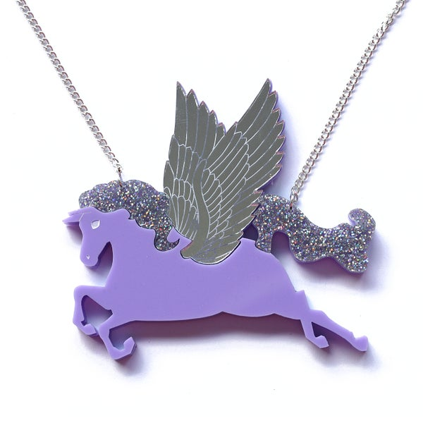 Image of Pegasus Necklace