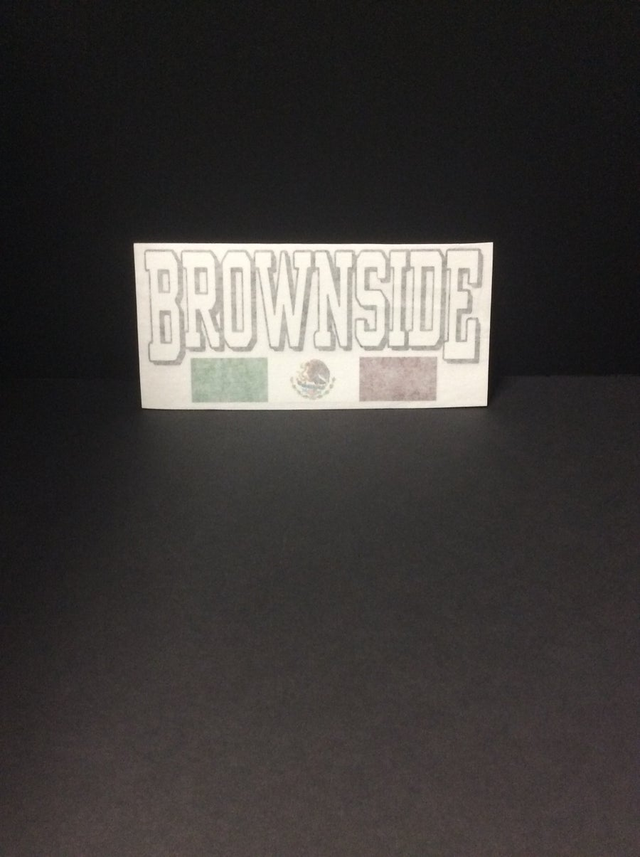 Image of Brownside Small Decal Sticker