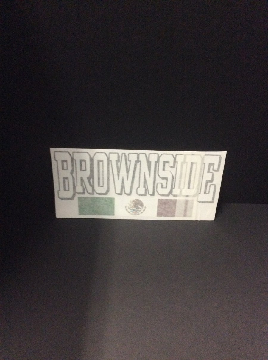 Image of Brownside Medium Decal Sticker