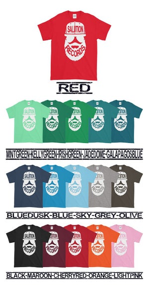 Image of Bearded Logo T-Shirt Color Variety