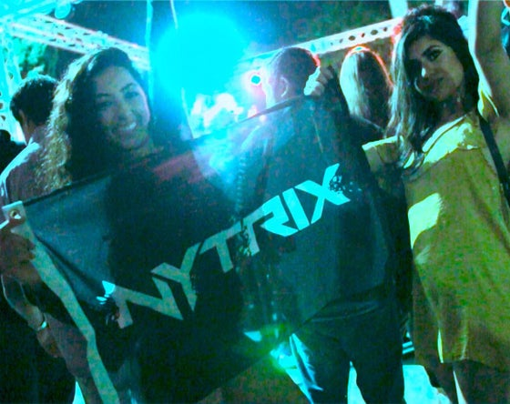 Image of NYTRIX - LOGO FLAG