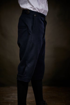 Image of East End 3/4 Trouser - Navy