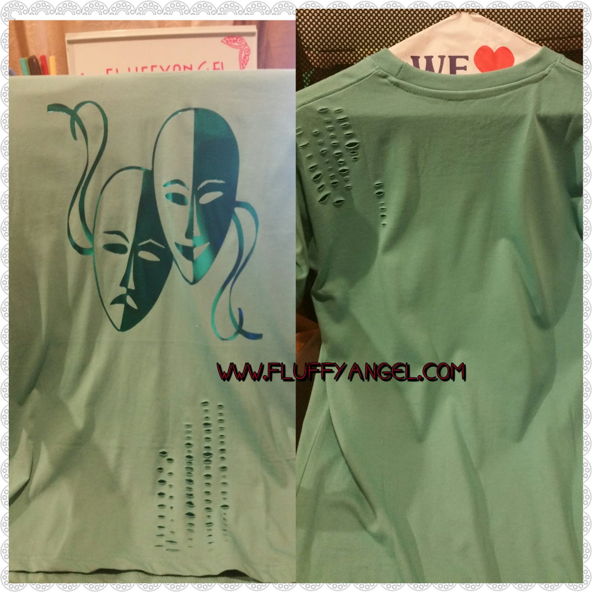 Image of MEN MASK T SHIRT
