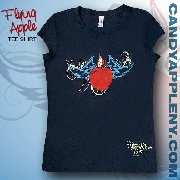 Image of Flying Apple tee shirt
