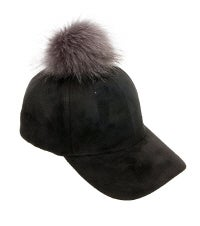 Image of SOLID COLOR POM POM HATS