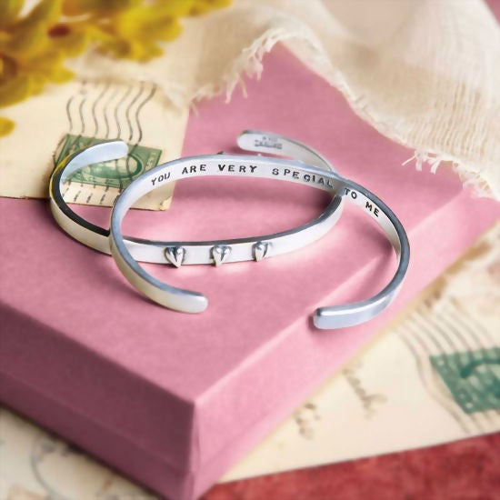 "Image of ""You Are Very Special to Me"" Sterling Bracelet"