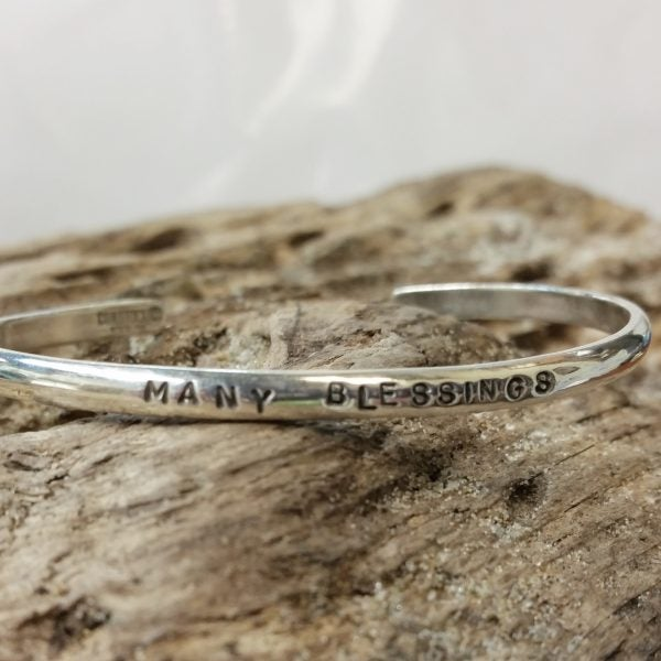 "Image of ""Many Blessings"" Sterling Bracelet"