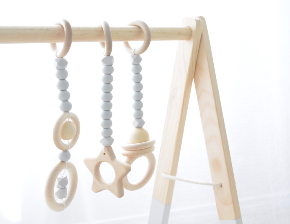 Image of Deluxe Wooden Playgym Set (INSTOCK READY TO SHIP)