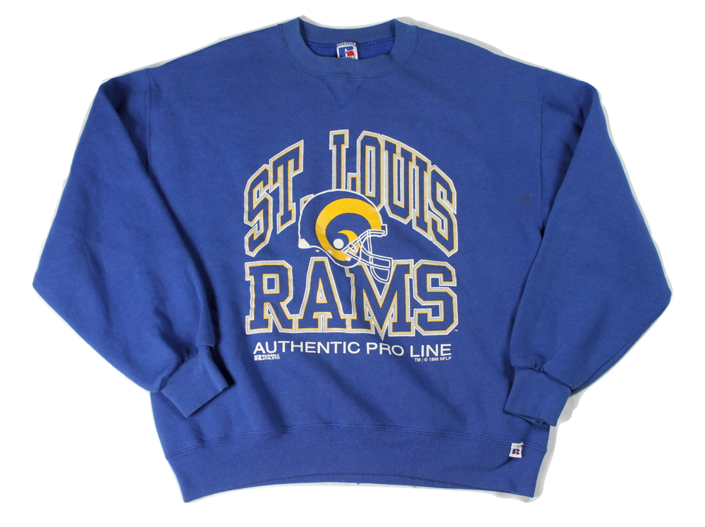 Image of Vintage St. Louis Rams sweatshirt