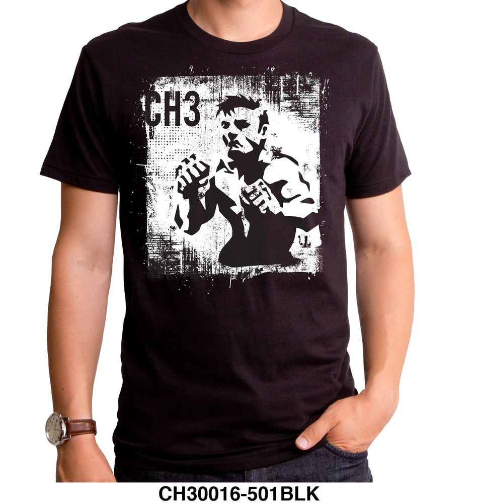 Image of CH3 Fighter Tee Black