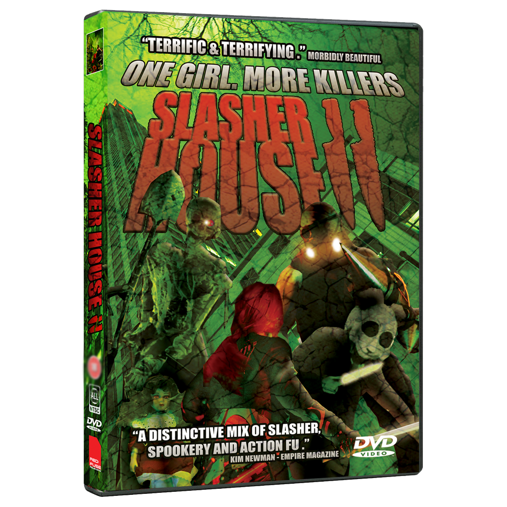 Image of SLASHER HOUSE 2 - REGION FREE DVD