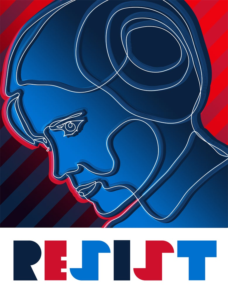 """Image of """"Resist"""" Poster"""