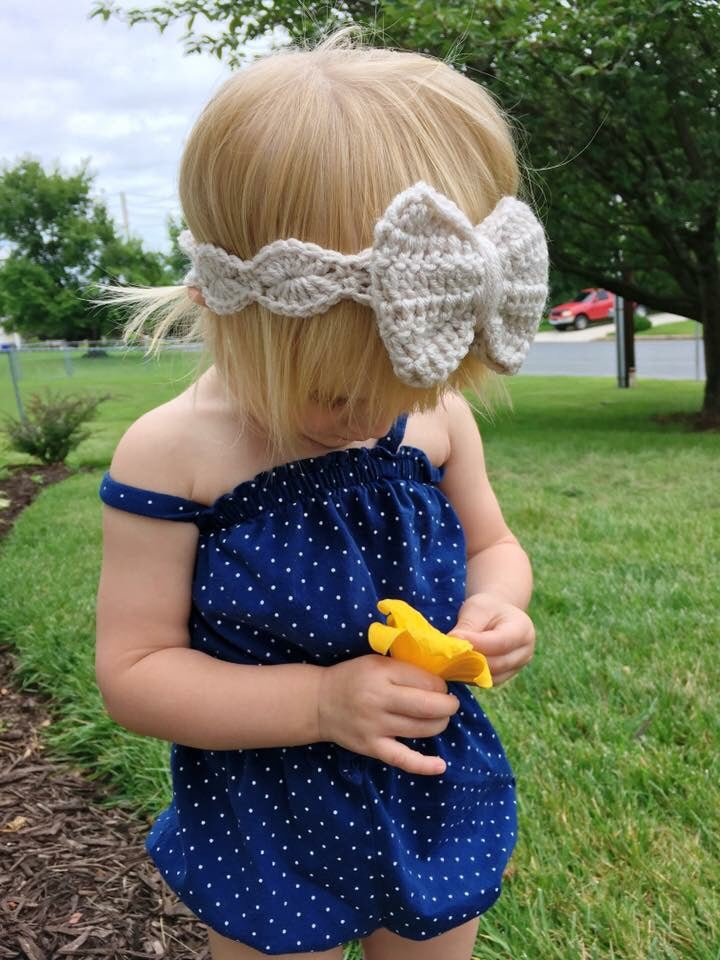 "Image of The ""Grace"" bow headband"