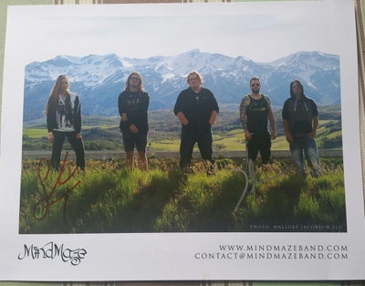 Image of 2017 Live Lineup Signed 8.5 x 11 Photo Print