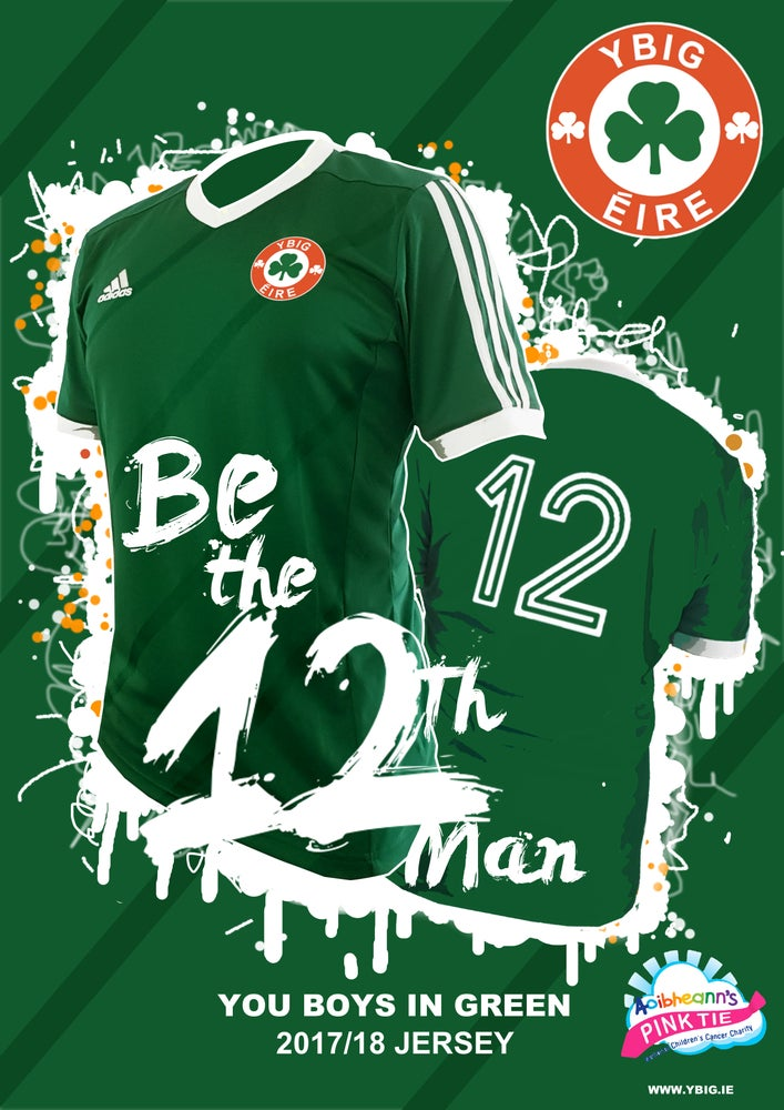 Image of YBIG Limited Edition 'Fans team' 12th Man Jersey