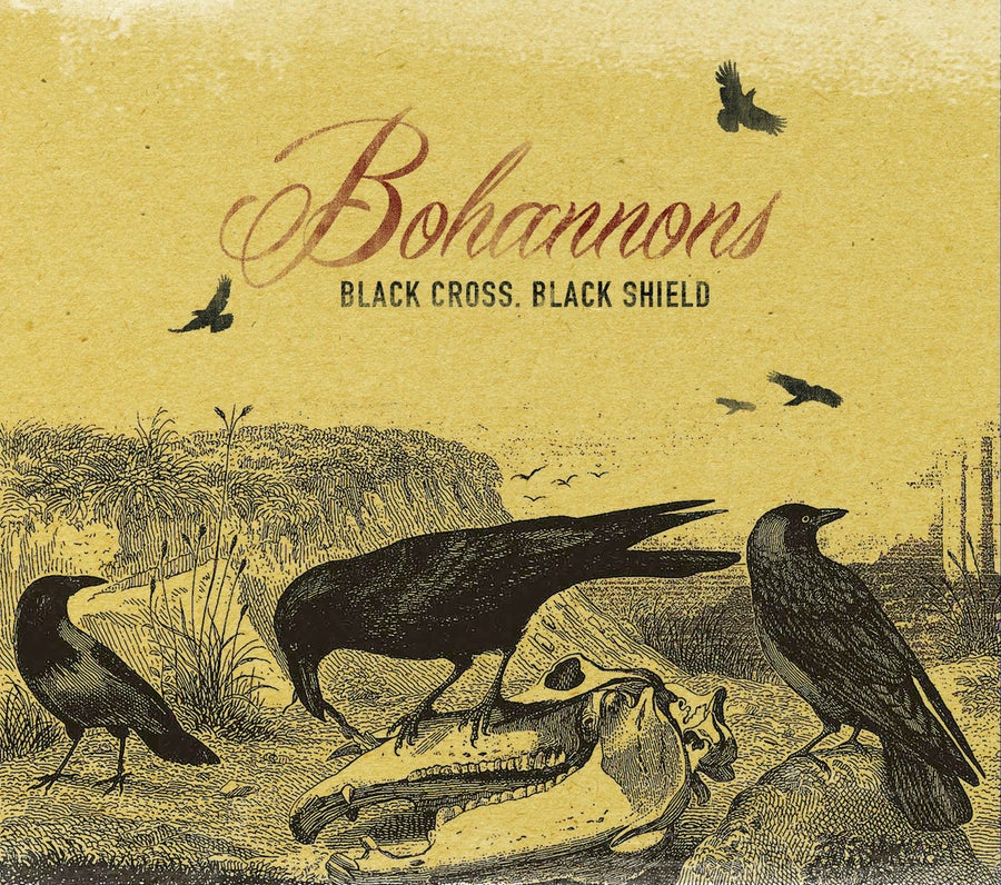 Image of Black Cross Black Shield Album