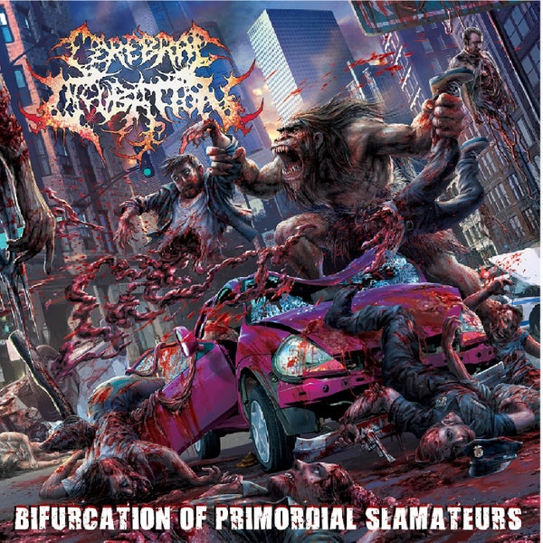 Image of CEREBRAL INCUBATION - Bifurcation Of Promordial Slamateurs CD
