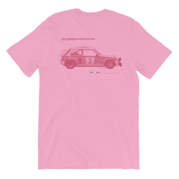 Image of 1998   SUMMER AUTOCROSS FESTIVAL Tee  - Pink