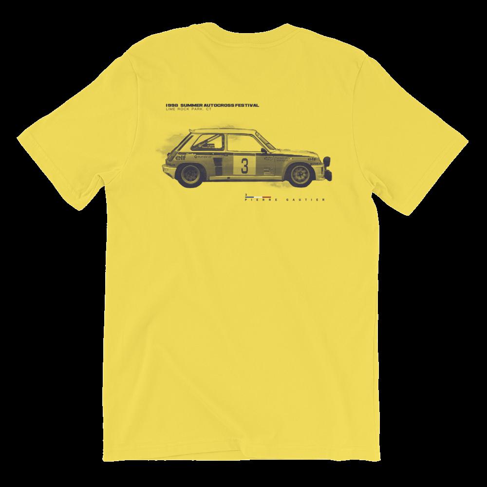 Image of 1998 SUMMER AUTOCROSS FESTIVAL Tee  - Yellow