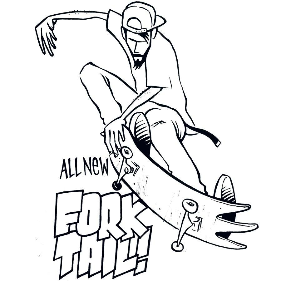 Image of ORIGINAL: CHIRP Andy Jenkins Drawing #4